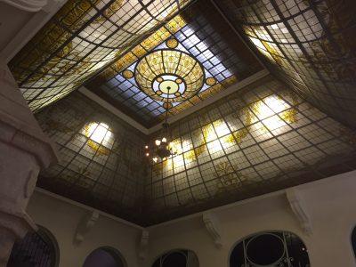 Localisation - Dôme du grand salon